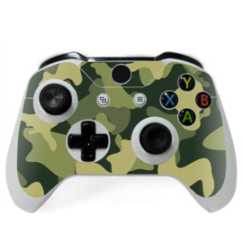 Army Camo Green Black - Xbox One Controller Skins