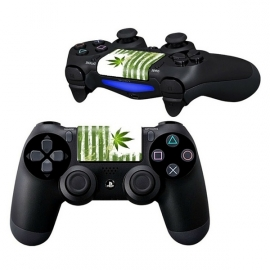 Weed Striped - PS4 Touchpad Skins