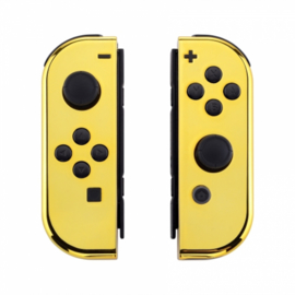 Chrome Goud set - Custom Joy-Con Controllers