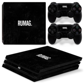 RUMAG. - PS4 Pro Console Skins