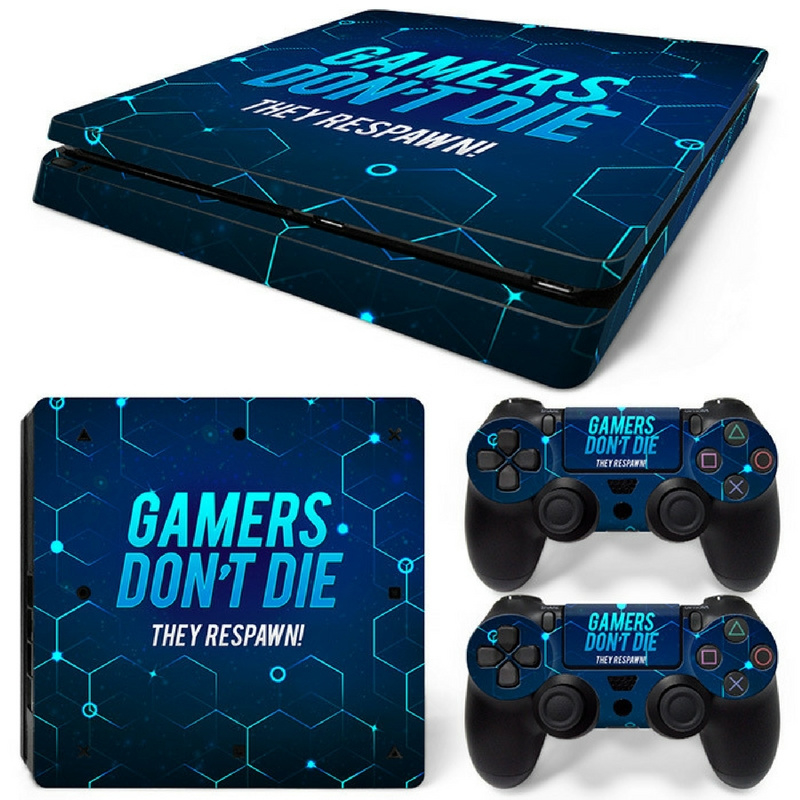 Gamers - PS4 Slim Console Skins