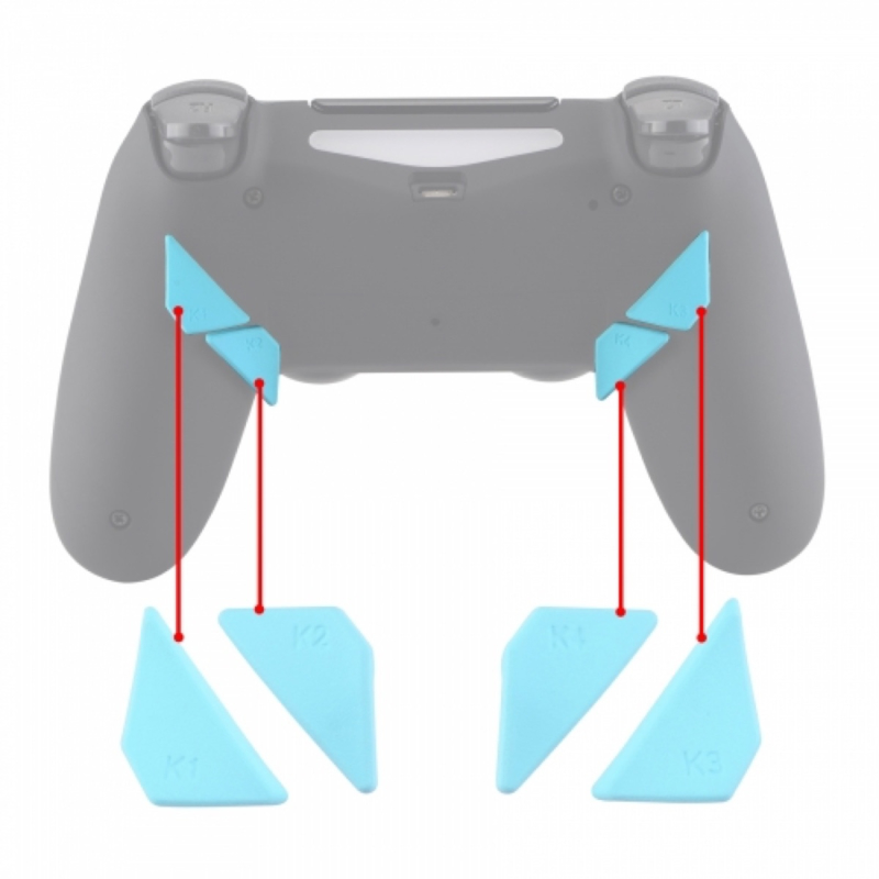 Soft Touch Hemelsblauw - PS4 eSports Back Buttons