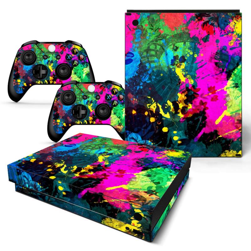 Color Splash - Xbox One X Console Skins