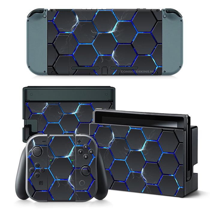 Hex Lightning - Nintendo Switch Skins