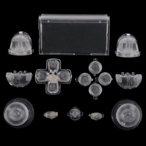 Transparant (GEN 1, 2) - PS4 Controller Buttons