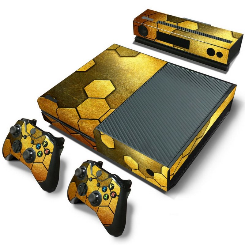 Steel Gold - Xbox One Console Skins