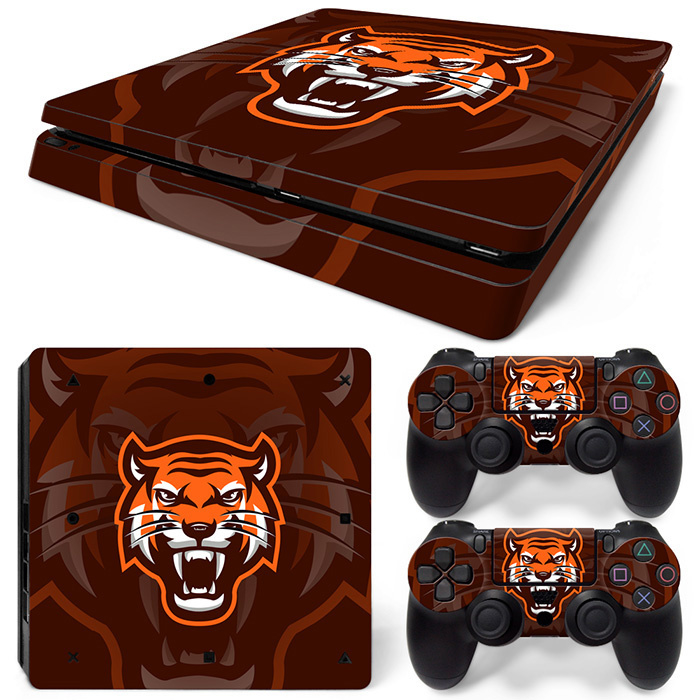 Gamer Tiger - PS4 Slim Console Skins