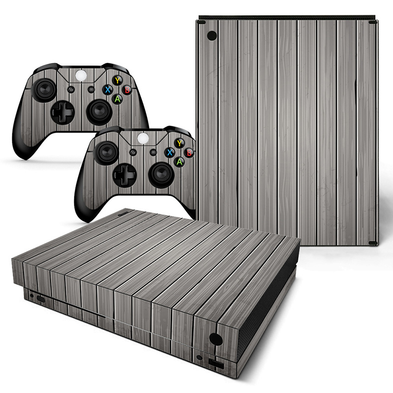 Wood Grey - Xbox One X Console Skins
