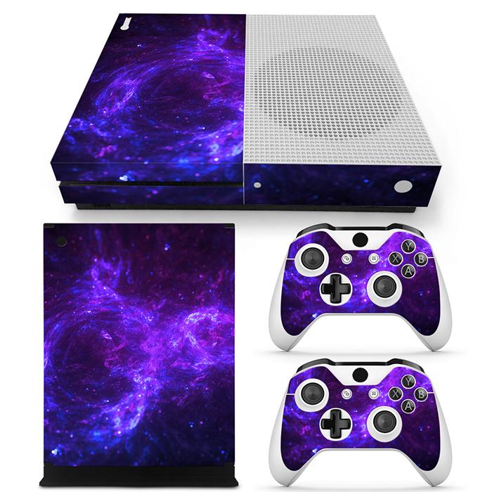 Dark Galaxy - Xbox One S Console Skins