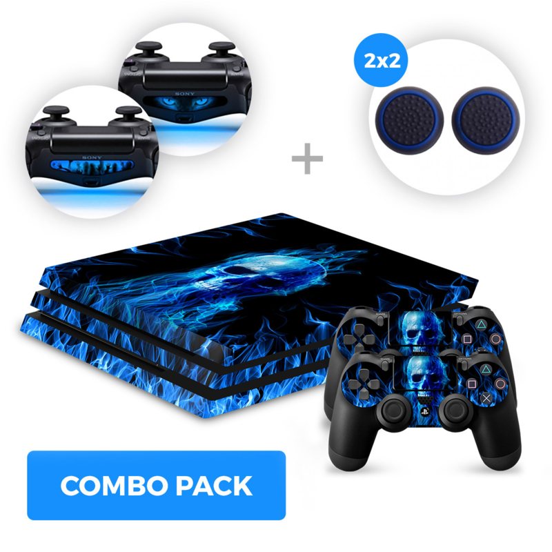 Fire Skull Skins Bundel - PS4 Pro Combo Packs