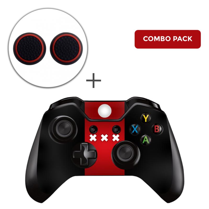 Amsterdam Premium Skins Grips Bundel - Xbox One Controller Combo Packs