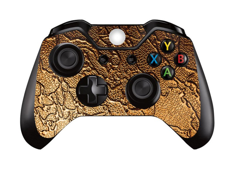 Golden Waves - Xbox One Controller Skins
