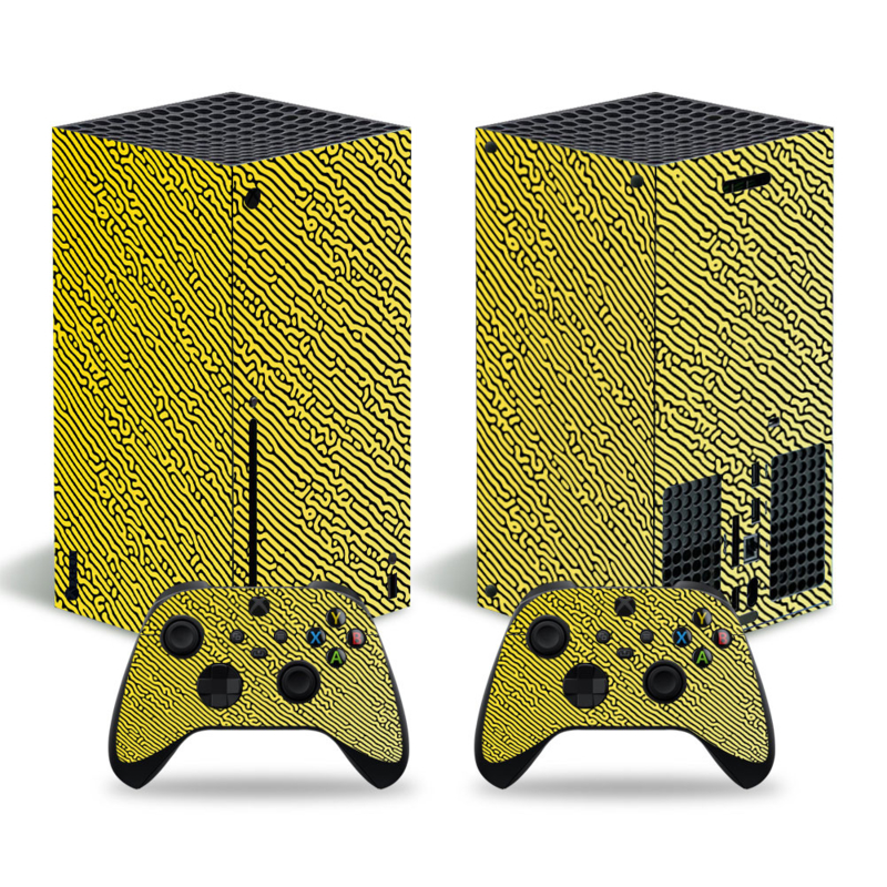 Cool Gradient Geel - Xbox Series X Console Skins