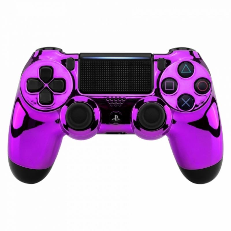 Chrome Paars - Custom PS4 Controllers V2