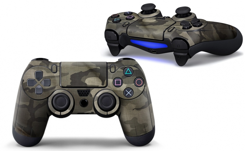 Army Camouflage Flecktarn - PS4 Controller Skins