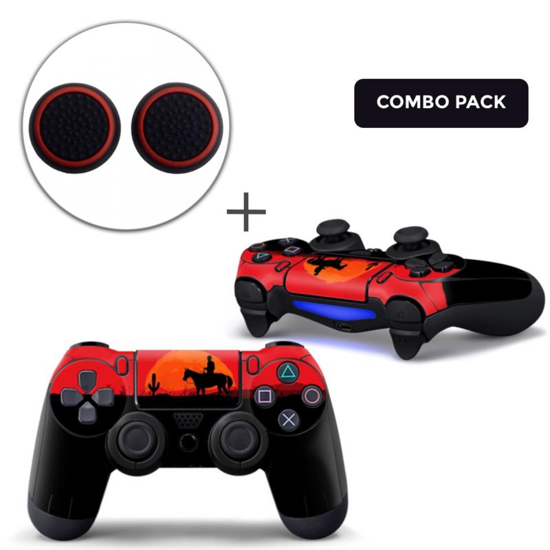 Wild West Skins Grips Bundle - PS4 Controller Combo Packs