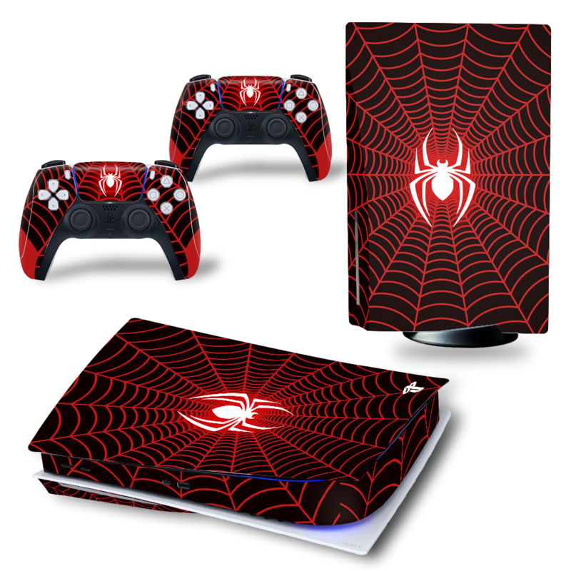 PS5 Console Skins - Spiderzone