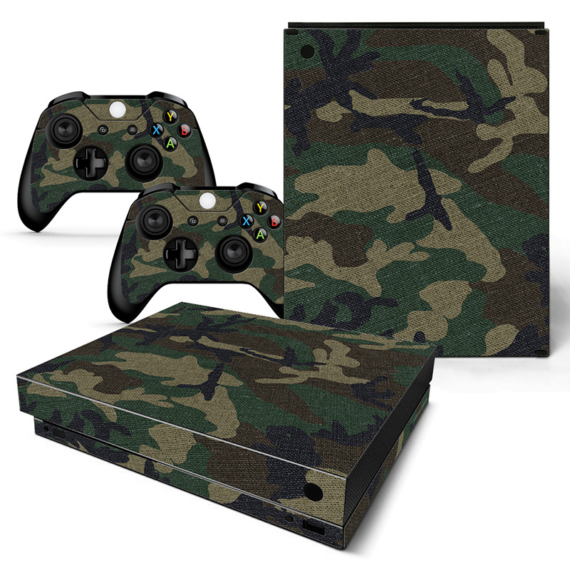 Army Camouflage Premium - Xbox One X Console Skins