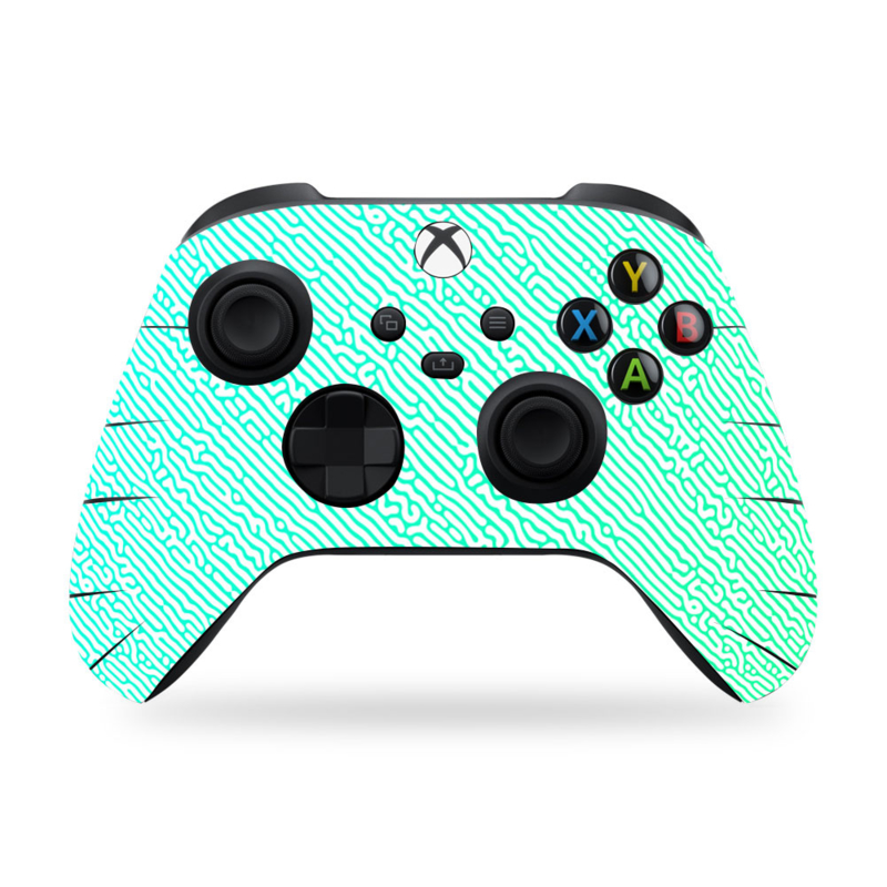 Xbox Series Controller Skins - Cool Gradient Light