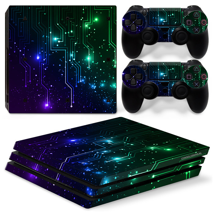 CPU / Mix - PS4 Pro Console Skins