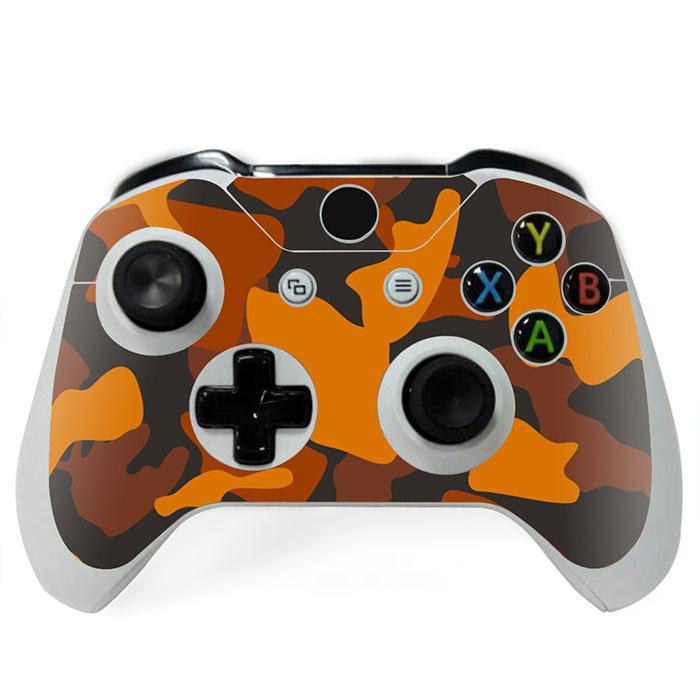 Army Camo Oranje Zwart - Xbox One Controller Skins