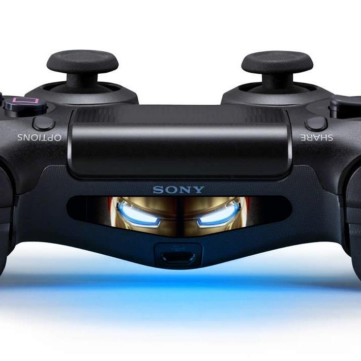 Iron Eyes - PS4 Lightbar Skins