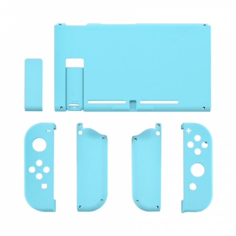 NS Behuizing Shell - Hemelsblauw Soft Touch - Complete Set Shells