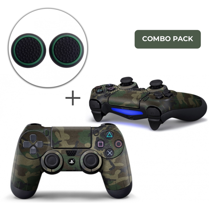 Army Camo Skins Grips Bundle - PS4 Controller Combo Packs