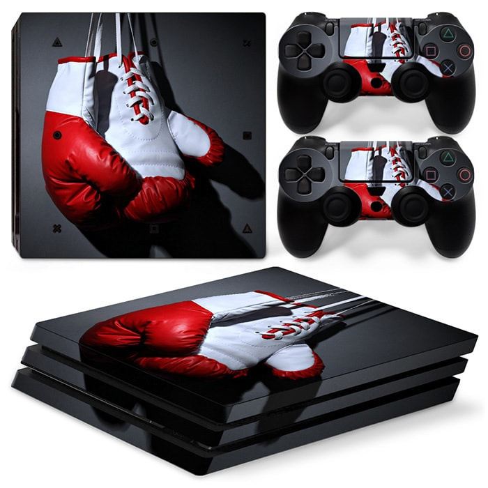 Boxing Gloves - PS4 Pro Console Skins