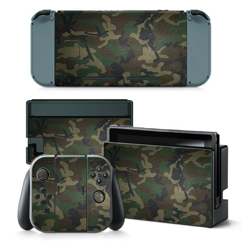 Army Camouflage Premium - Nintendo Switch Skins