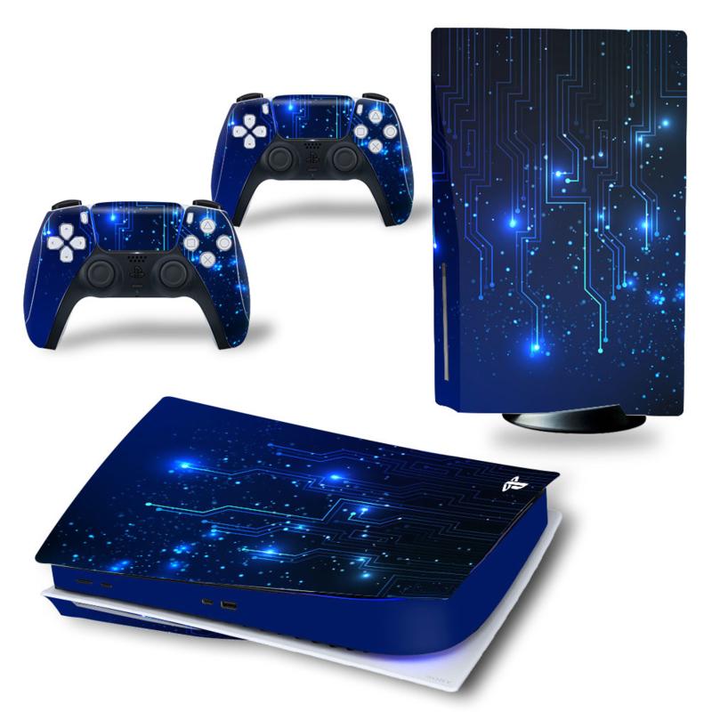 PS5 Console Skins - CPU / Blauw