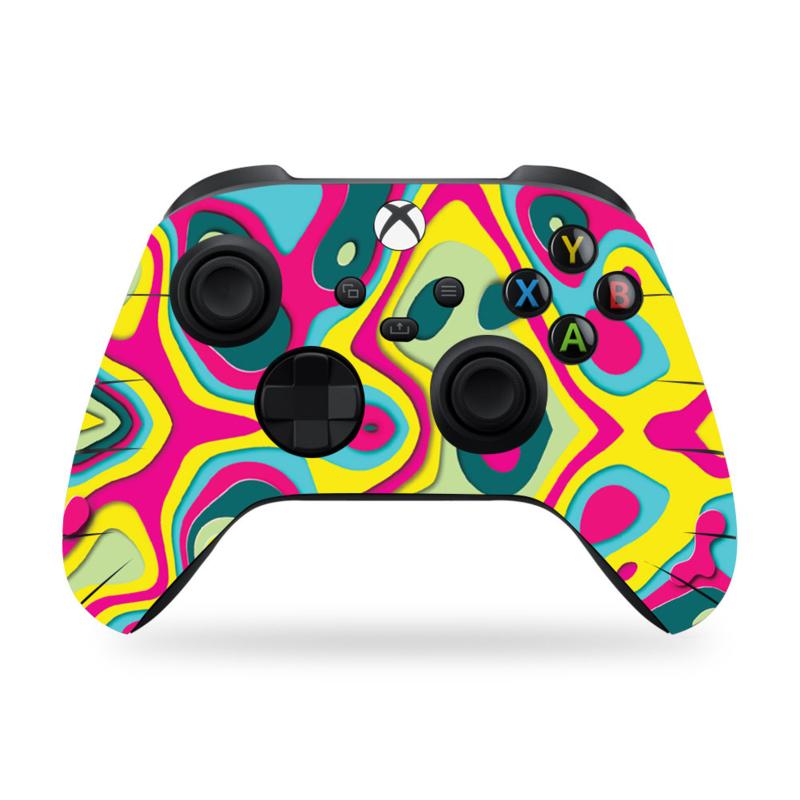 Xbox Series Controller Skins - Artboard Regenboog