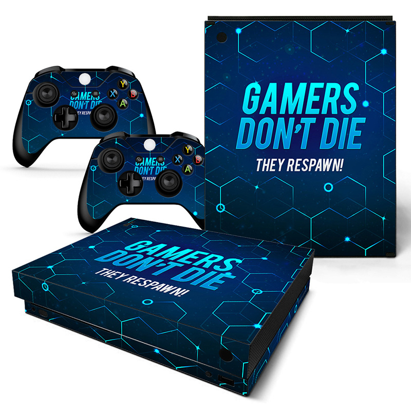 Gamers - Xbox One X Console Skins