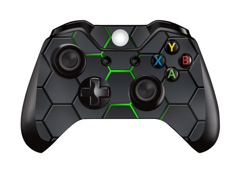 Hex Lime - Xbox One Controller Skins