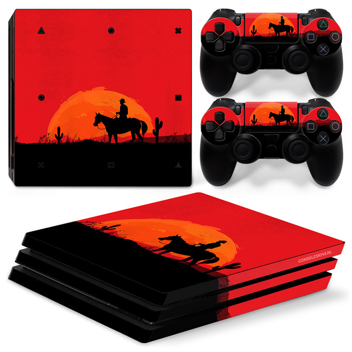 Wild West - PS4 Pro Console Skins