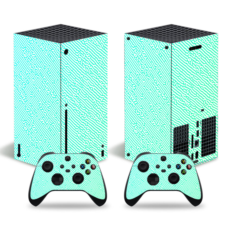 Cool Gradient Light - Xbox Series X Console Skins