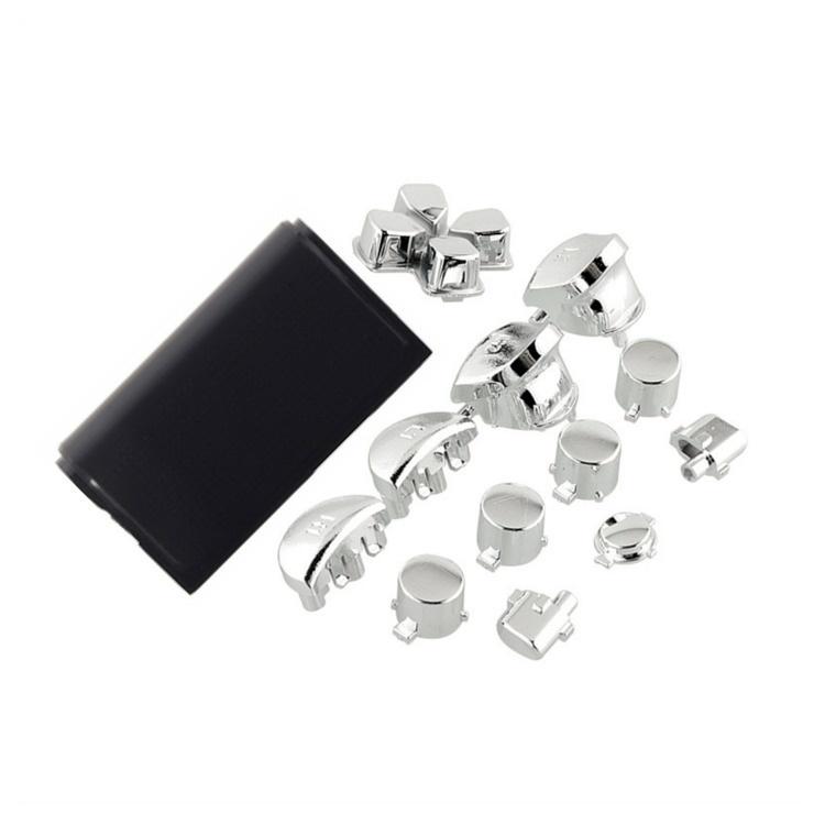 Zilver Chrome (GEN 1, 2) - PS4 Controller Buttons