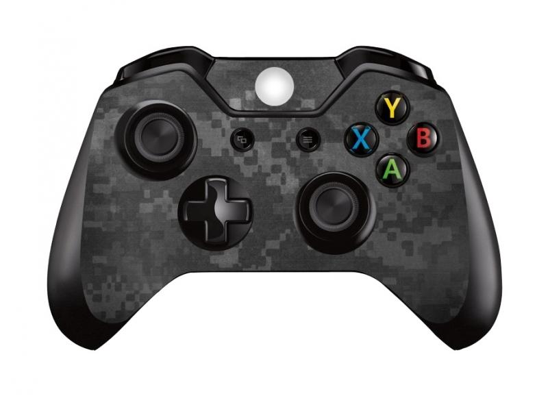 Digital Camouflage Dark - Xbox One Controller Skins