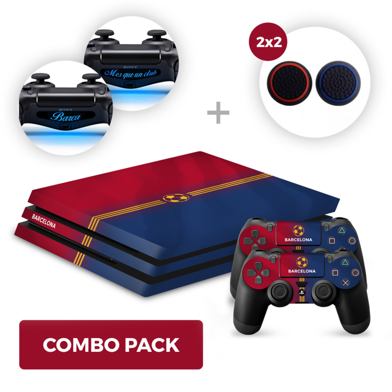 Barcelona Skins Bundle - PS4 Pro Combo Packs