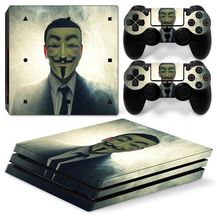 Anonymous - PS4 Pro Console Skins