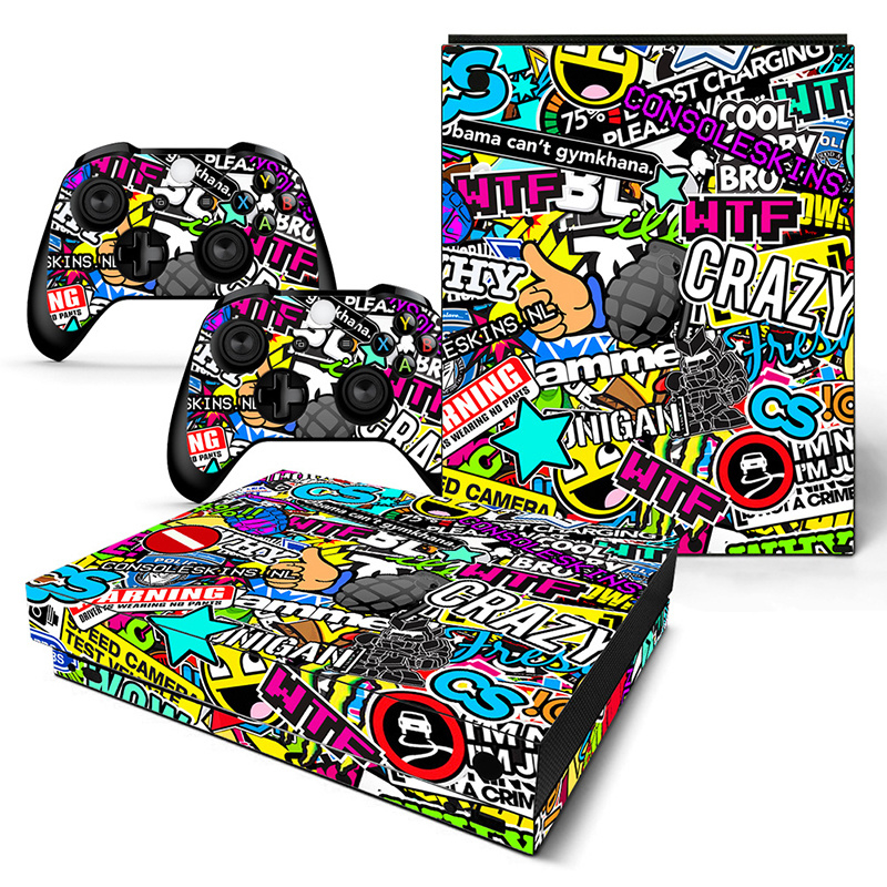 Madness - Xbox One X Console Skins