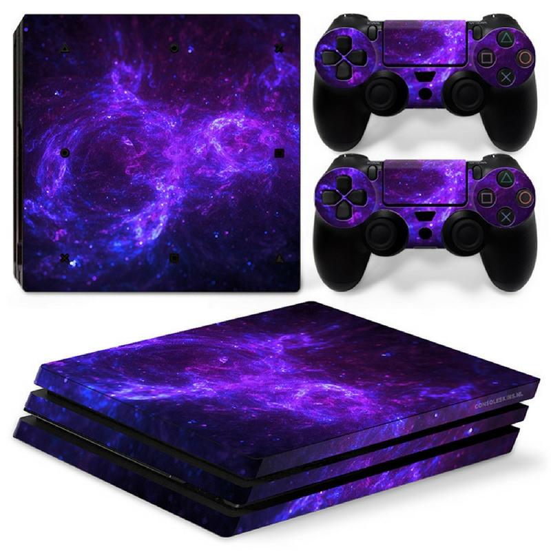 Dark Galaxy - PS4 Pro Console Skins