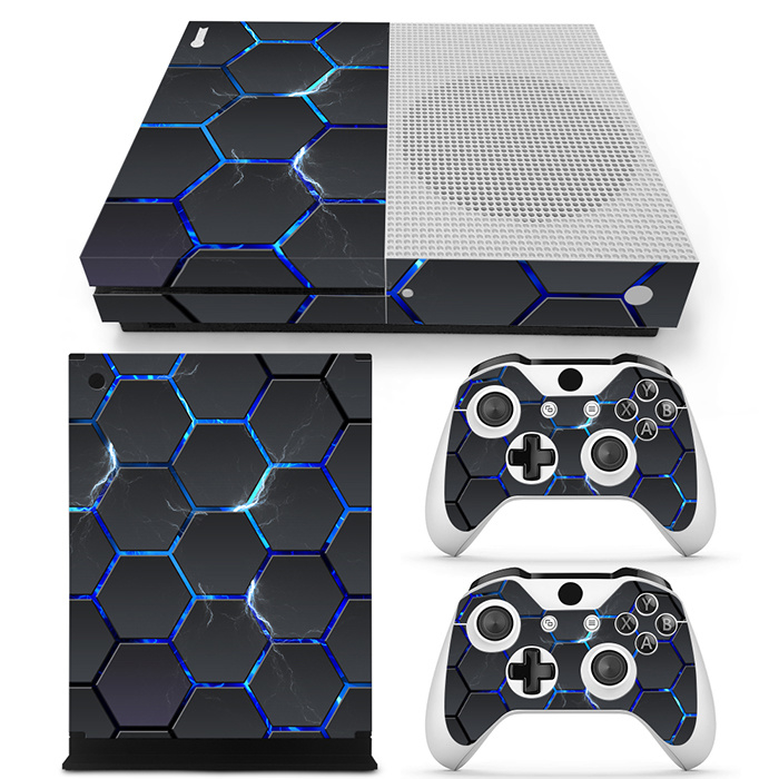 Hex Lightning - Xbox One S Console Skins