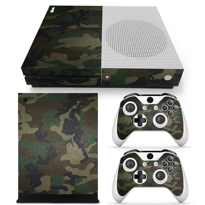 Army Camouflage Premium - Xbox One S Console Skins