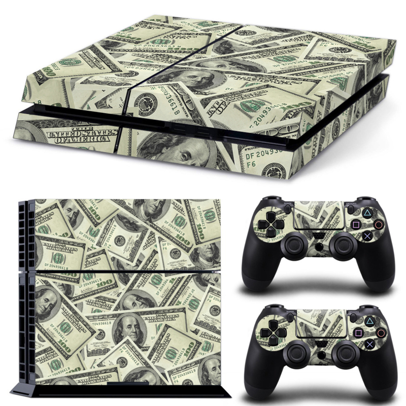 Dollars - PS4 Console Skins