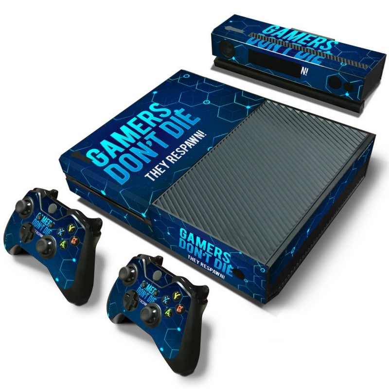 Gamers - Xbox One Console Skins