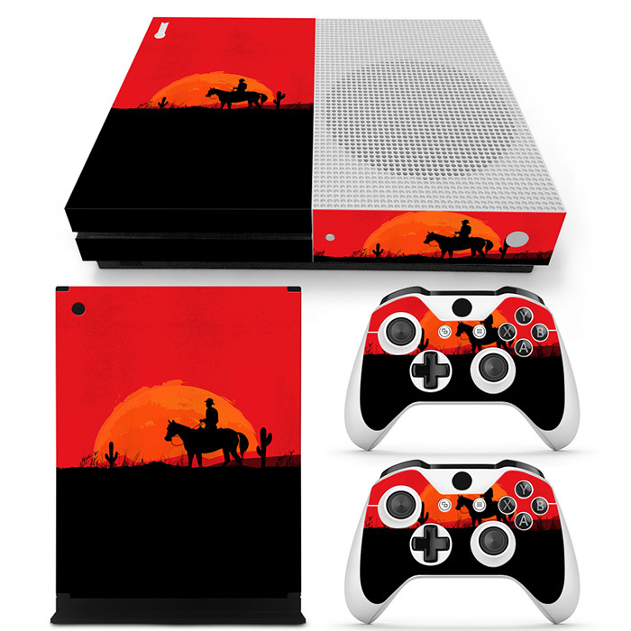 Wild West - Xbox One S Console Skins
