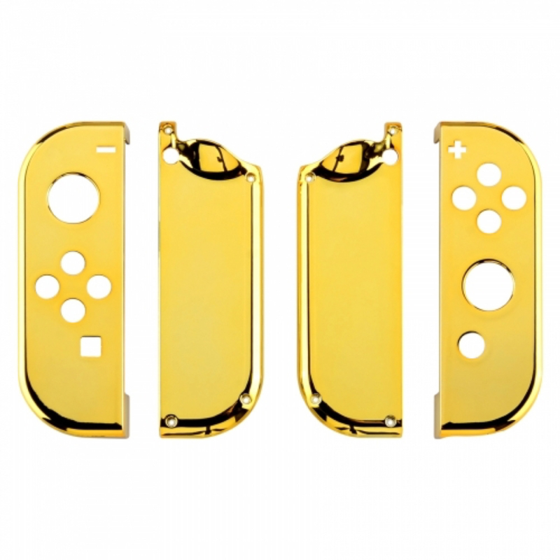 Chrome Goud set - Nintendo Switch Controller Shells