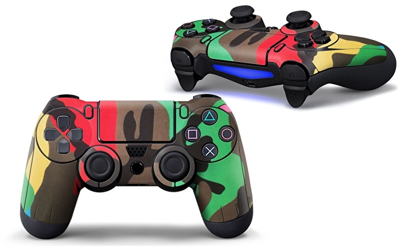 Army Mix - PS4 Controller Skins