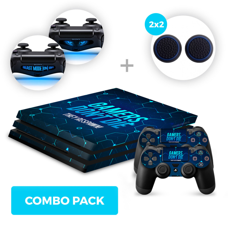 Gamers Skins Bundle - PS4 Pro Combo Packs